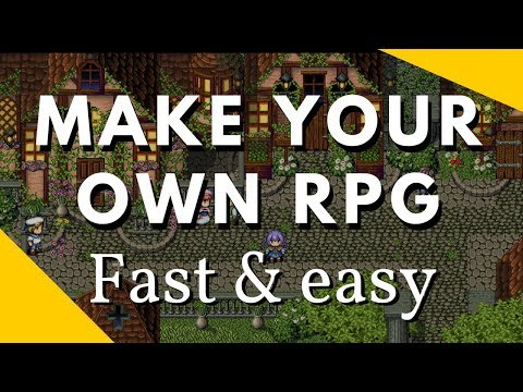 Make your own RPG fast and easy