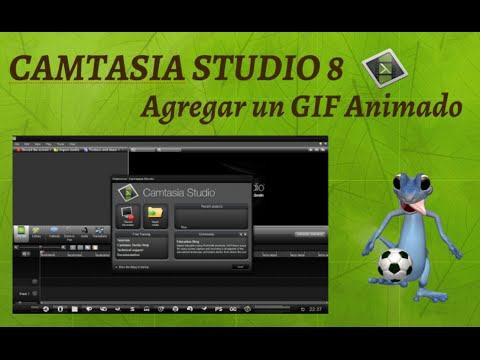 how to add text in camtasia 8