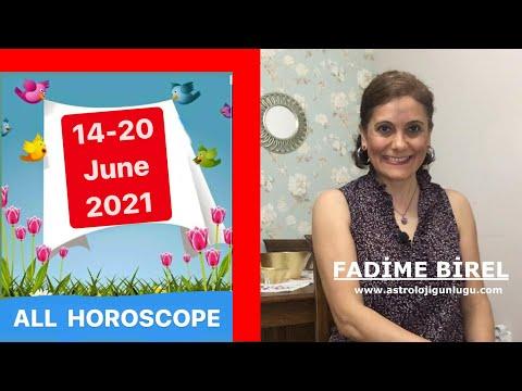 14-20 June 2021 Weekly Horoscope