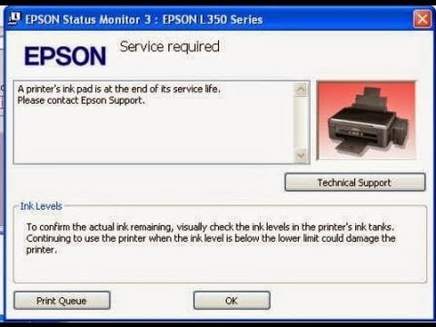 epson l380 red light blinking problem solution, Head Cleaning by Software