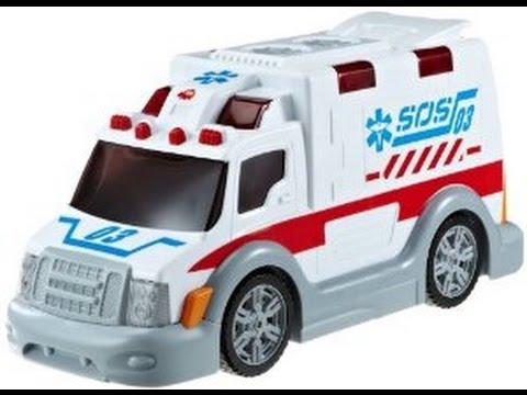 Ambulancia Coche De Juguete Dibujos Animados Para Ninos Youtube