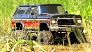 RC Car MUD, Swamp and Sand OFF Road — Ford Bronco Axial SCX10 — Wilimovich