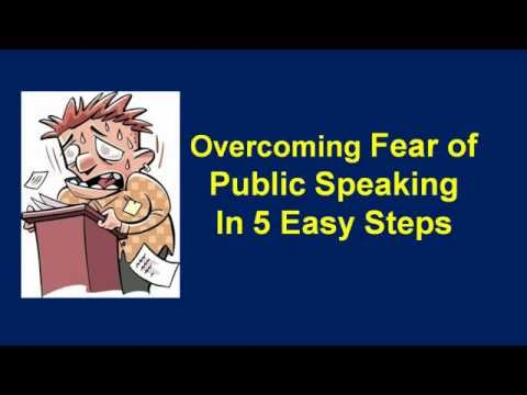 overcoming fear in making oral presentation Initial considerations glossophobia – the fear of public speaking it is the single most common phobia (fear) approxim.