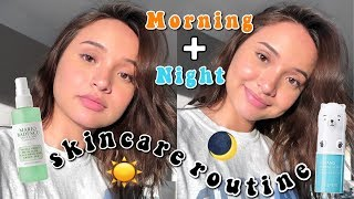 Скачать EVERYDAY GLOWY SKINCARE ROUTINE 2018 MY DAY AND NIGHT SKINCARE ROUTINE 2018