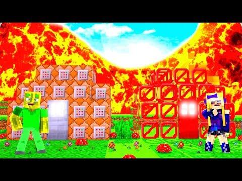 COMMAND BLOCK vs. BARRIERE HAUS - Minecraft TSUNAMI