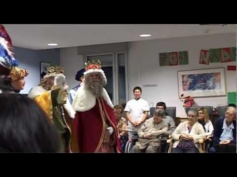 Els Reis De L'Orient Visiten La Residència Sant Sadurní De Callús