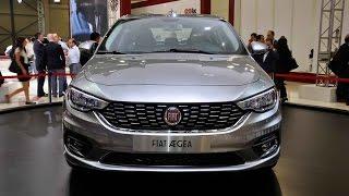 Fiat Egea 2016 - Fiat Tipo 2016 - İstanbul Autoshow 2015 - HD