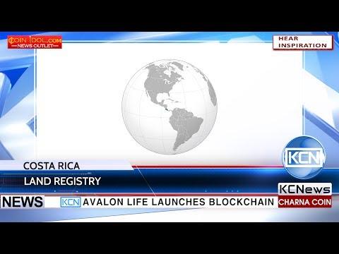 KCN Blockchain for land registry in Costa Rica