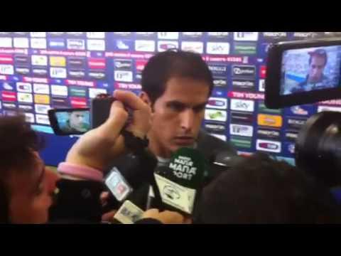 FUTEBOL BAILADO - Ledesma in mixed zone dopo Lazio-Roma