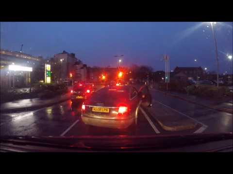 Angry driver at Morissons, Barrow in Furness