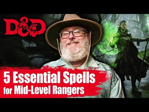 5 Go to D&D Ranger Spells for Tier 2