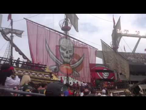 pirate ship at buccaneers stadium youtube pirate ship at buccaneers stadium youtube