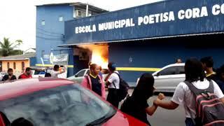 Escola pegou fogo