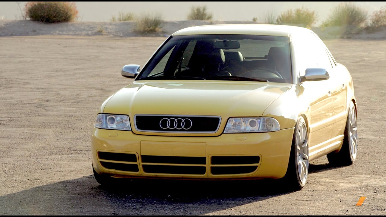 Audi B5 S4 A Legend Done Two Ways  TUNED  YouTube