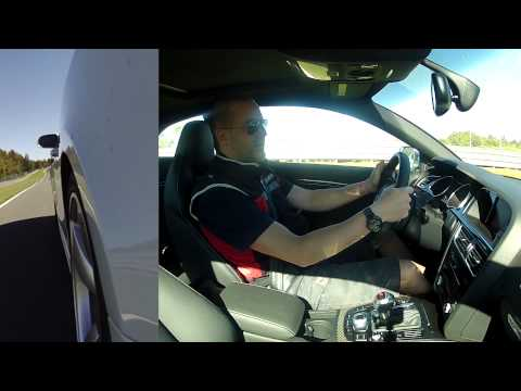2013 Audi RS5 Quattro - Track Test Drive and Quick Review