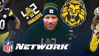 Ryan Shazier Reacts to Shaquem Griffin's 40-Yard Dash & Injury Update | NFL Network