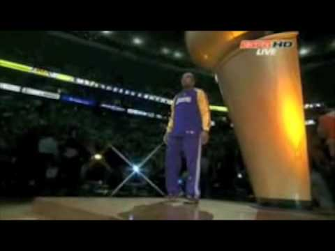 2008 NBA Finals Game Intro with Roundball Rock and Starting Line Ups