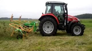 Maszyny zielonkowe Samasz w akcji z ciągnikami FENDT i Massey Ferguson