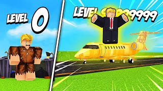 GETTING LEVEL 9999 PRESIDENT in Roblox Trump Tycoon!