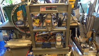 More Improvements to the Harbor Freight 20 Ton Hydraulic Press Part 2