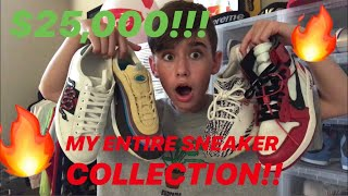14 YEAR OLD'S UNREAL SNEAKER COLLECTION!!!