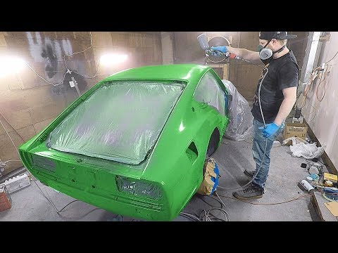 Finally Getting Good Paint On The 240z!