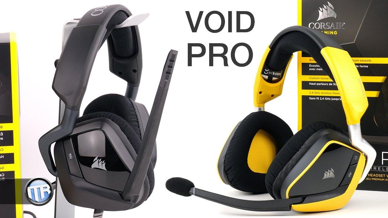 6d995520063 Neue Premium-Headsets von Corsair? VOID PRO Surround & RGB Wireless SE im  Test!