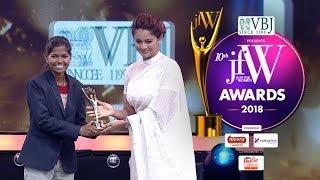Gymnast Aruna Reddy at JFW awards 2018 24-11-2018 JFW Show