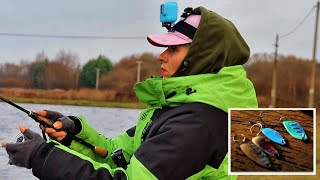 РЫБАЛКА на ПЛАТНИКЕ. Как ловить ФОРЕЛЬ на колебалки? #139