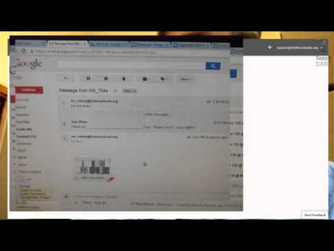How to scan a document and upload to google docs or classroom