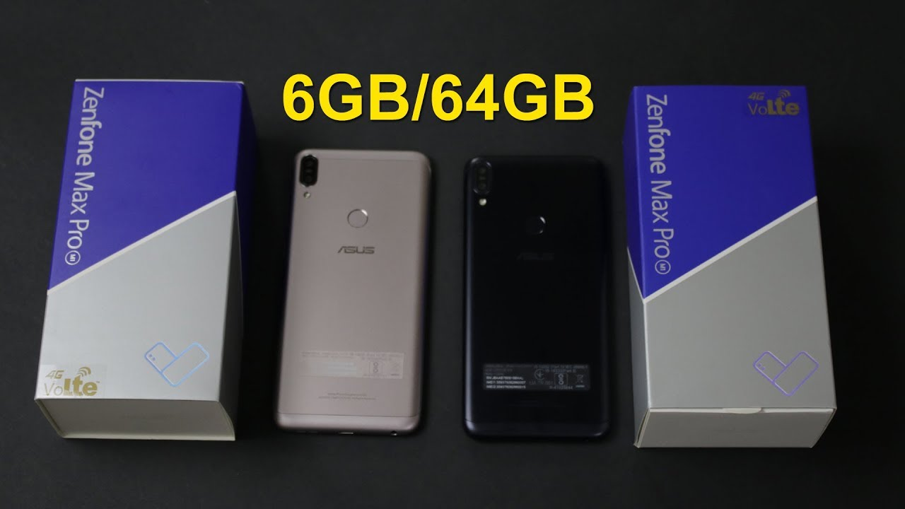 Asus Zenfone Max Pro M1 6gb Unboxing And First Impression Rs 14 999