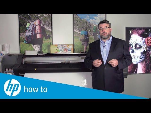 Przydatne tricki – załadunek mediów do drukarek HP Latex