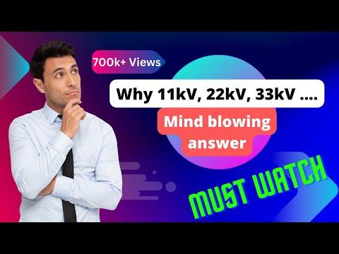 Why 11kV, 22kV, 33kV, 66kV, 132kV... in India | Interview Question | PiSquare Academy