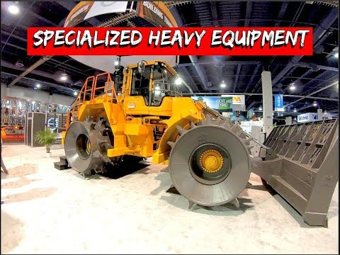 A Look At Specialized Heavy Equipment For Waste Handling-loaders, Excavators, & Garbage Trucks