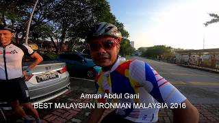 Shah Alam Triathletes final brick with Coach Amran Abdul Ghani for IRONMAN MALAYSIA 2019