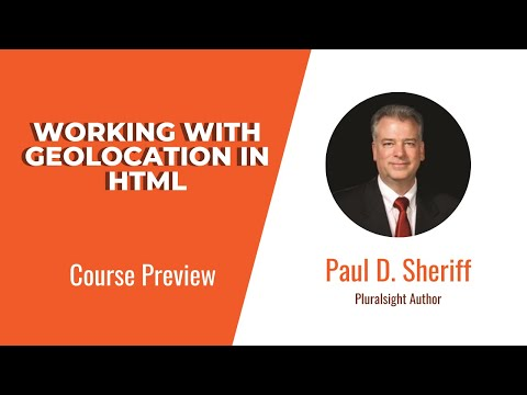 HTML Skills: Working With Geolocation In HTML Course Preview