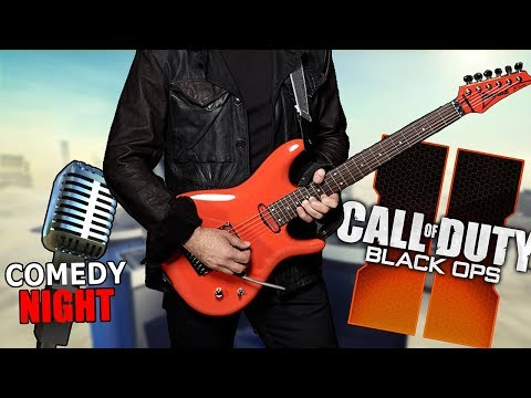 Playing Guitar on Black Ops 2 & Comedy Night - Highly Requested Songs