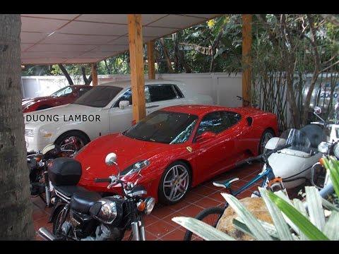 Đột Nhập Những Garage Siêu Xe