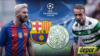Barcelona vs Celtic 7 - 0 All Goals And Highlights Champions League Group Stage 14 9 2016