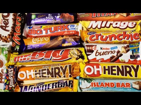 Trying Too Many Canadian Candy Bars