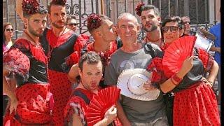 Fantastyczna zabawa na ulicach stolicy prowincji - Fiesta Malaga 2014!