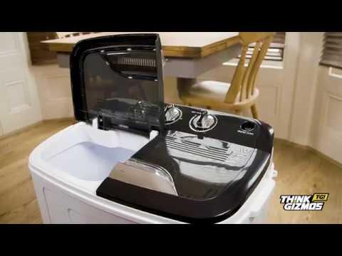 TG23 Twin Tub Portable Washing Machine - Wash and Spin