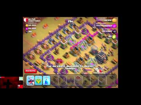 Clash Of Clans - Level 6 Balloons And Clan Wars 38 With HollywoodShono And Gavino