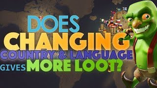 DOES CHANGING LANGUAGE GIVES BETTER LOOT IN COC ??!! | Clash Of Clans Myth | WITH PROOF |