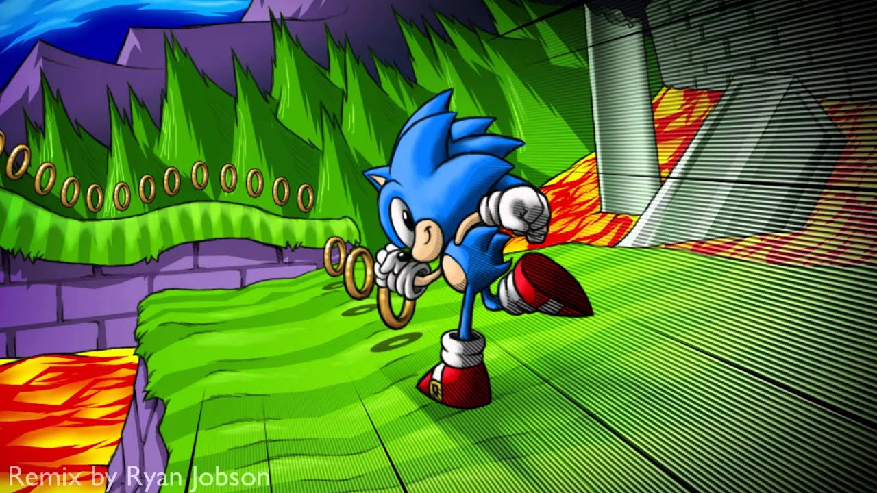 Sonic The Hedgehog Marble Zone Remix Youtube
