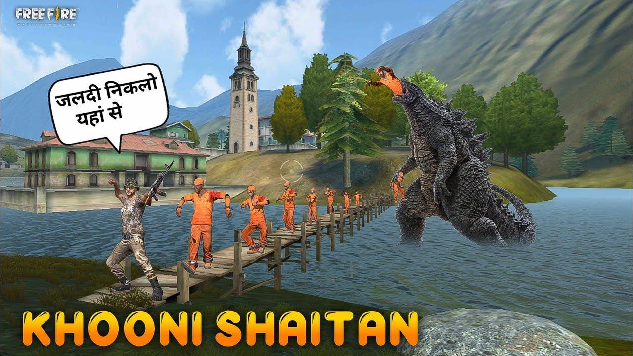 Khooni Shaitan [ खूनी शैतान ] Short Horror, Adventure Story in Hindi || Free Fire Story