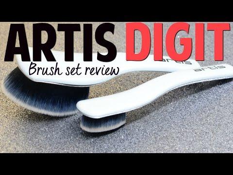 NEW! Artis Digit Skincare Brushes   for skincare only