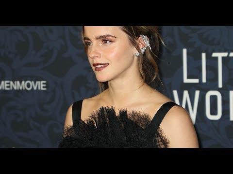 ✅  Emma Watson Théâtrale Face à Timothée Chalamet Et Louis Garrel