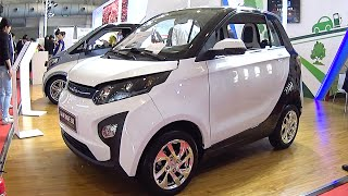 Zotye Zhima E30 EV 2016, 2017 Hybrid and electric vehicle the Shanghai Auto Show in China