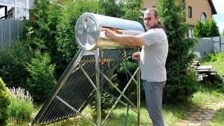 Обзор солнечного водонагревателя